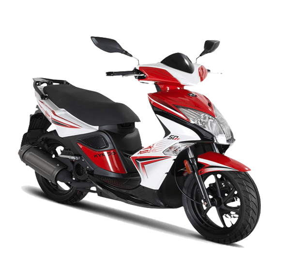 Kymco Super 8 rot